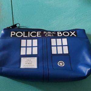 Dr Who Tardis Makeup Bag